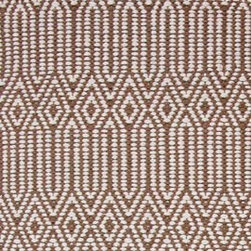 Hook & Loom Rug Company - Hancock Taupe/White  Rug - Very eco-friendly rug, hand-woven with yarns spun from 100% recycled fiber.  Color comes from the original textiles, so no dyes are used in the making of this rug.  Made in India.