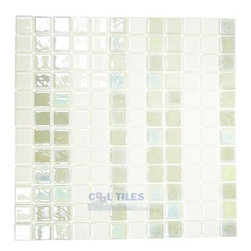 Mosaic Glass Tile by Vidrepur Glass Mosaic Geometrias Collection Recycled Glass -