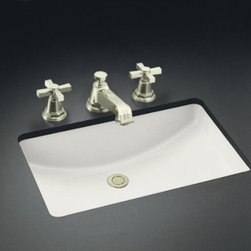 "KOHLER - KOHLER K-2215-0 Ladena Undermount Bathroom Sink, 21"" x 14"" - KOHLER K-2215-0 Ladena Undermount Bathroom Sink, 21"" x 14"" in White"