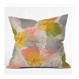 """DENY Designs - Khristian A Howell Bryant Park 6 Throw Pillow - Wanna transform a serious room into a fun, inviting space? Looking to complete a room full of solids with a unique print? Need to add a pop of color to your dull, lackluster space? Accomplish all of the above with one simple, yet powerful home accessory we like to call the DENY Throw Pillow! Features: -Khristian A Howell collection. -Top and back color: Print. -Material: Woven polyester. -Sealed closure. -Spot treatment with mild detergent. -Made in the USA. -Closure: Concealed zipper with bun insert. -Small dimensions: 16"""" H x 16"""" W x 4"""" D, 3 lbs. -Medium dimensions: 18"""" H x 18"""" W x 5"""" D, 3 lbs. -Large dimensions: 20"""" H x 20"""" W x 6"""" D, 3 lbs."""