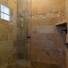 eclectic showers by Tahoe Real Estate Photography