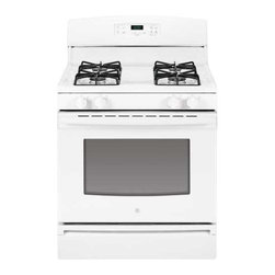 "GE - GE 30"" Free Standing Gas Range Electronic Ignition - Extra-Large Oven Capacity."