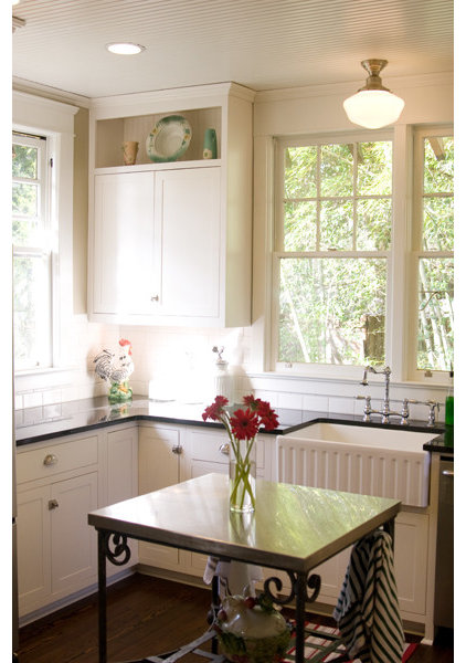traditional kitchen by The Lettered Cottage