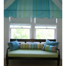 Eclectic Window Treatments by Lou Lou's Decor