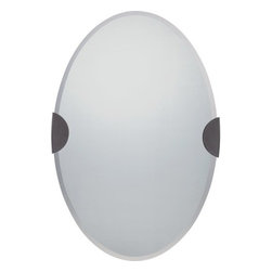 Quoizel - Quoizel QR1664 Barclay Oval Shaped Mirror - Features:
