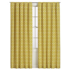 contemporary curtains by Crate&Barrel