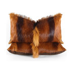 Pfeifer Studio - Springbok Hide Pillow - You can't visit South Africa without learning about the Springbok antelope. It is a treasured and protected animal, and these hides only come from reputable tanneries in the region. This ultra soft throw pillow is the perfect way to bring a bit of the wild into your home without even going on safari.