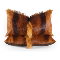 Springbok Hide Pillow