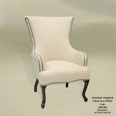 modern armchairs by Armoires & Accents