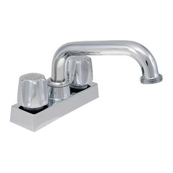 NATIONAL BRAND ALTERNATIVE - Laundry Faucet Components Chrome - Features: