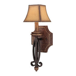 Foxborough 1-Light Sconce Iron and Umber - Only 2 Left! 33% OFF.