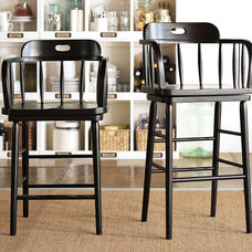 traditional bar stools and counter stools by Pottery Barn