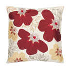 Safavieh Home Furniture - Red and Yellow 18-Inch Decorative Pillows Set of Two - - This Meridan 18-inch Cream / Red Decorative Pillows (Set of 2) features the wonderful sheen of satin polyester is the canvas to which an exuberant field of claret-red and yellow-gold flowers is appliquTd. Each pillow is outlined with a cream background with red and yellow accents detailed embroidery for added dimension.   - Red / Yellow  - Some assembly required - Yes  - Please note this item has a 30-day manufacturer's limited warranty that covers product defects. Inspect your purchase upon delivery and notify us immediately with any concerns. Safavieh Home Furniture - PIL804A-1818-SET2