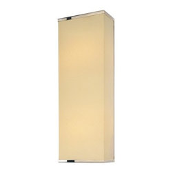 """Sonneman - Pannelo ADA Wall Sconce in Satin Nickel - Pannelo's beauty of form and soft radiance bring unique sophistication to your modern space. Features: -Wall sconce. -Pannelo collection. -Material: metal. -Satin nickel finish. -Available in 15"""" and 22"""" height sizes. -Metal shade. -Energy saving. -Installation: Dry locations. -Voltage 120 volt. -Eco friendly. -Certification: UL. -Specifications:. -ADA compliant. -15"""" Wall sconce accommodates (1) 18W 2G11 twin compact fluorescent bulb. -22"""" Wall sconce accommodates (2) 18W 2G11 twin compact fluorescent bulb. -Wall plate dimensions: 4.5"""" H x 4.5"""" W. -15"""" shade dimensions: 15"""" H x 6"""" W x 0.75"""" D. -22"""" shade dimensions: 22"""" H x 6"""" W x 0.75"""" D. -15"""" overall dimensions: 15"""" H x 6"""" W x 3"""" D. -22"""" overall dimensions: 22"""" H x 6"""" W x 3"""" D. -Product weight: 6 lbs."""