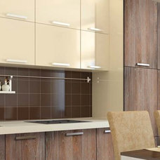 Contemporary Kitchen Cabinets by Miralis