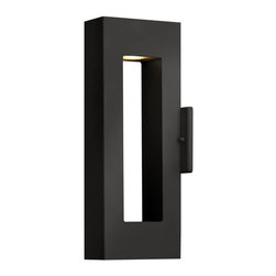 """Hinkley Lighting - Hinkley Lighting 1640-LED 16"""" Height Dark Sky LED Outdoor Wall Sconce - 16"""" Height LED Dark Sky Outdoor Wall Sconce with Rectangular Shade from the Atlantis CollectionFeatures:"""
