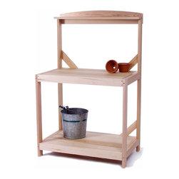 Cedar Potting Table -