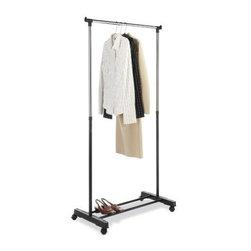 Whitmor - Adjustable Garment Rack - Whitmor Adjustable Garment Rack