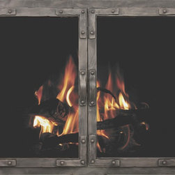 Old World Stoll Fireplace Glass Door - Custom Product -