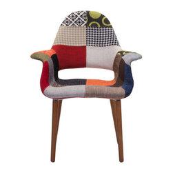 Moshe Occasional Chair - Polyblend & Beechwood.