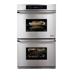 "Dacor Classic Millennia 27"" Double Wall Oven, Stainless Steel 