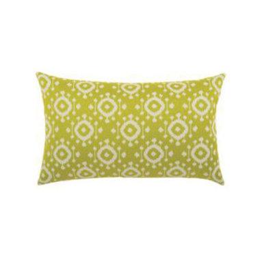"New Elaine Smith Pillows - Elaine Smith Pillows Machu Picchu Citrine Ikat - 12"" x 20"""