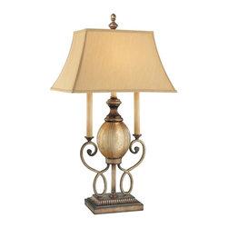 Minka-Lavery - Minka-Lavery La Cecilia Accent Lamp - 4140-3-573 - This 1-Light table lamp has a black finish and is part of the La Cecilia Collection.