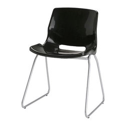 IKEA of Sweden - SNILLE Visitor chair - Visitor chair, black