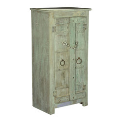 Sierra Living Concepts - Camelot Reclaimed Wood 2 Door Floor Storage Cabinet - Camelot Reclaimed wood rustic furniture is comfortable and lived in like a favorite pair of blue jeans and this 2 door floor storage cabinet is that and more.