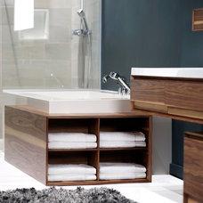Modern Bathroom Storage by Montreal-Les-Bains