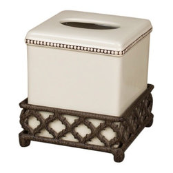 GG Collection - The GG Collection Ogee-G Tissue Box Cream - The GG Collection Ogee-G Tissue Box Cream