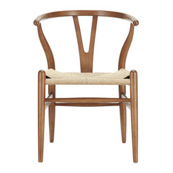 East End Imports - Amish Chair Walnut - This dining chair features traditional wood paired with modern design, resulting in a unique piece for your home.