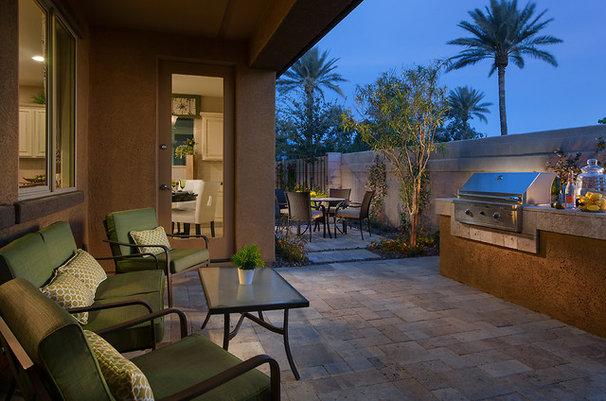 Mediterranean Patio by Maracay Homes Design Studio