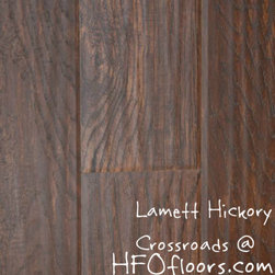 Lamett Hickory - Lamett Hickory, Crossroads laminate. Available at HFOfloors.com.