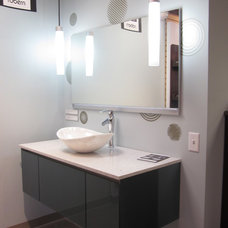Modern Bathroom Vanities And Sink Consoles by THE SOMERVILLE SHOWROOM