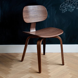 Thompson SE Molded Plywood Chair - Gus Modern Molded Plywood Chair