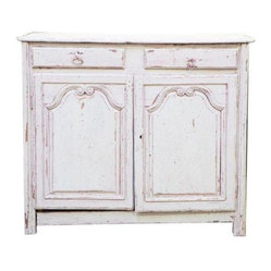 Normandy Painted Buffet - This traditional painted buffet circa the mid-18th Century retains it ...