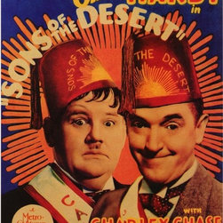 Sons of the Desert 11 x 17 Movie Poster - Style B - Sons of the Desert 11 x 17 Movie Poster - Style B Stan Laurel, Oliver Hardy, Mae Busch, Charley Chase, Dorothy Christy. Directed By: William A. Seiter. Producer: Hal Roach.