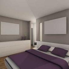 Modern Rendering Modern Bedroom