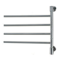Amba Products - Amba J-D004 B Jack D004 Towel Warmer - Collection: Swivel