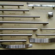 Modern Cabinet And Drawer Handle Pulls by Marathon Hardware & Fasteners