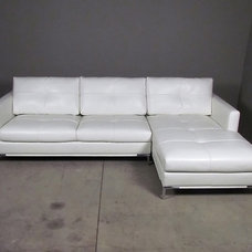 Modern Sectional Sofas by red: modern lines . vintage finds