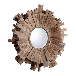 Cyan Design - Cyan Design 05593 Polk Transitional Round Mirror - Cyan Design 05593 Polk Transitional Round Mirror