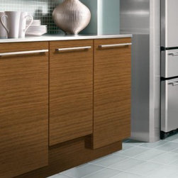 """GE Monogram 18"""" Integrated Dishwasher - Custom Panel Model — Designed for personalization with customer-supplied cabinet-compatible panel and custom handle"""