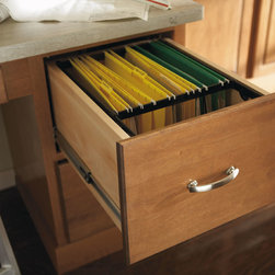 Aristokraft File Drawer - Store important papers close by with  Aristokraft's file drawer.