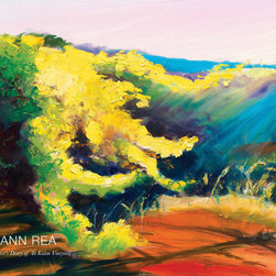 Ann Rea - An Artist's Diary of To Kalon Vineyard - Memories of the Napa Valley, delivered to your door.