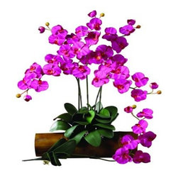 Set of 12 Phalaenopsis Stems - About Nearly Natural Inc.For over 75 years, Nearly Natural Inc. has been providing conscientious consumers with beautiful alternatives to natural decorations. Employing and advised by naturalists who understand the live plant world, Nearly Natural is able to recreate the most realistic-looking decorative items for homes, offices, and businesses. Driven by a true commitment to customer service, attention to detail, and natural philosophy, Nearly Natural strives to bring customers the most beautiful, unique, and striking faux fauna and flora on the market.
