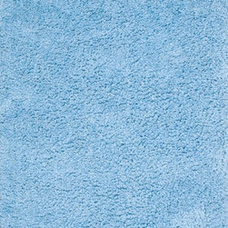 "Loloi Rugs - Loloi Rugs Hera Shag Collection - Blue, 5'-0"" x 7'-6"" - The Hera Shag Collection offers a fun, innovative take on the classic shag rug. Its interesting strand-like texture and striking colors are the perfect update to the shag category. Customers can choose from a selection of mixed tonal shades from warm to cool."