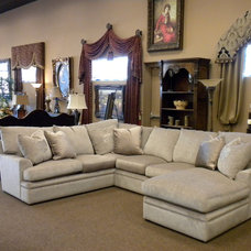 Traditional Sectional Sofas by Marco Draperies and Interiors LLC