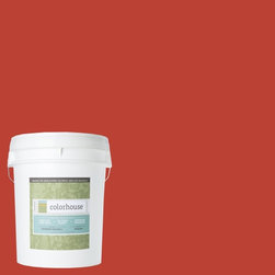 Inspired Eggshell Interior Paint, Petal .06, 5-Gallon - Color house paint are zero VOC, low-odor, Green Wise Gold certified and have superior coverage and durability. Our artist-crafted colors are designed to be easy backdrops for living. Color house paints are 100% acrylic with no VOCs (volatile organic compounds), no toxic fumes/HAPs-free, no reproductive toxins, and no chemical solvents.